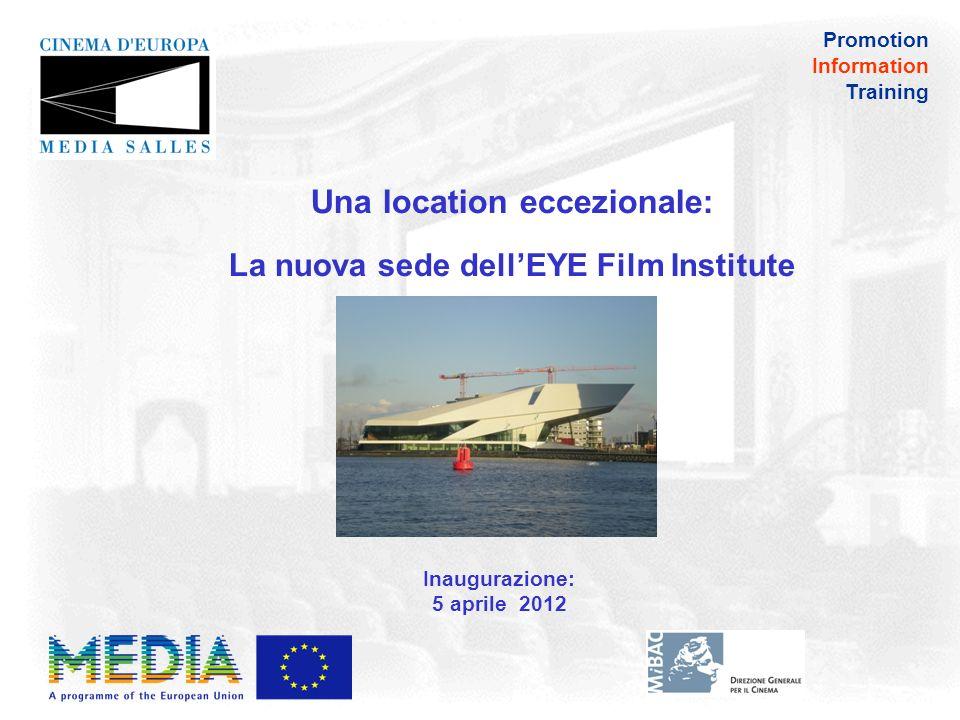 Promotion Information Training I principali contenuti di DigiTraining Plus - in che modo la digitalizzazione cambierà l industria del cinema.