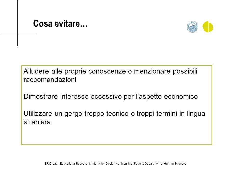 Le possibili domande: il lavoro offerto da: Cerco Lavoro www.cerco-lavoro.info Come mai si è candidato per questo lavoro.