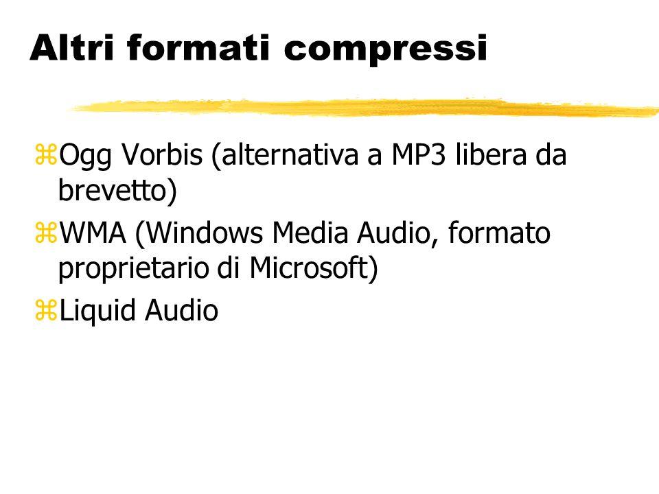 Streaming Ascolto o visione di un file direttamente da Internet durante la ricezione Negoziazione della larghezza di banda Buffering