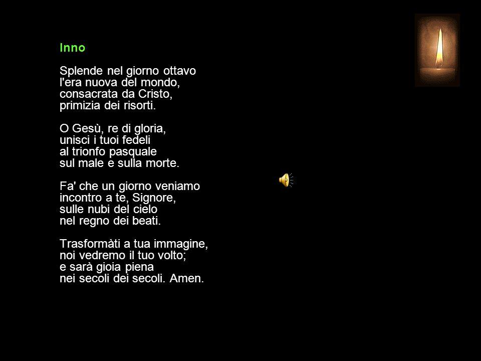 20 OTTOBRE 2013 - XXIX DOMENICA DEL TEMPO ORDINARIO UFFICIO DELLE LETTURE INVITATORIO V.