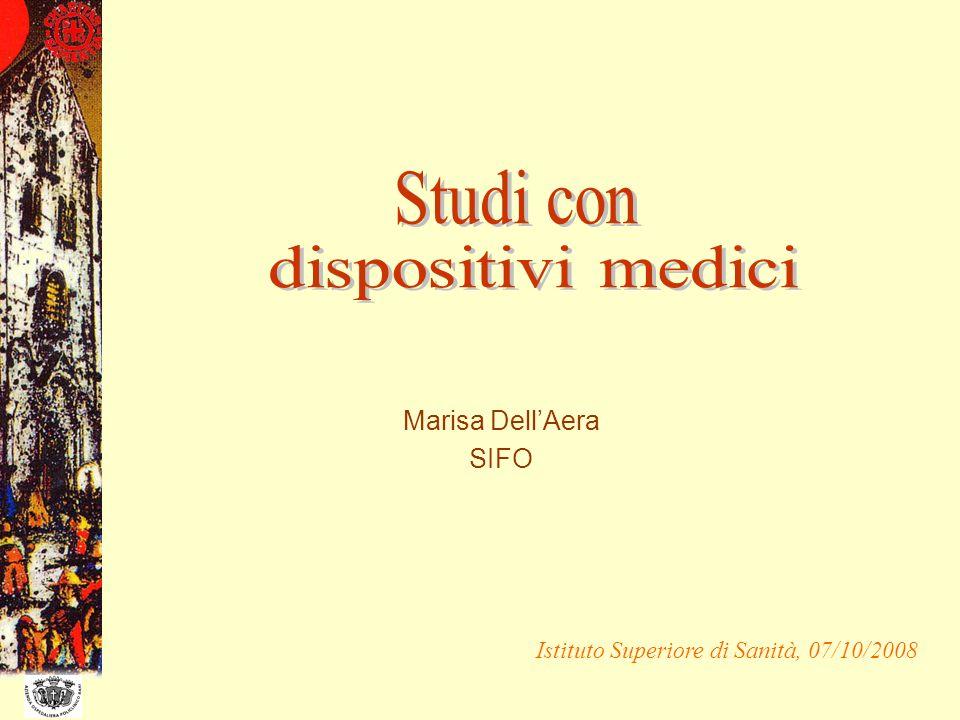 Marisa DellAera SIFO Istituto Superiore di Sanità, 07/10/2008