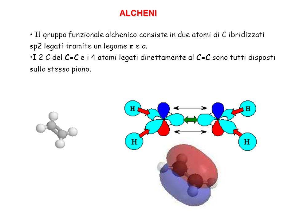 Stabilità: ci sono 3 fattori che influenzano la stabilità degli alcheni: 1.