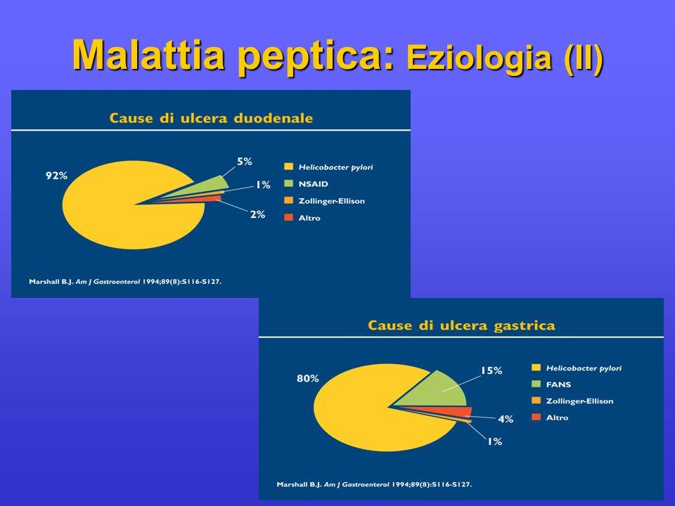 Malattia peptica: Eziologia (II)