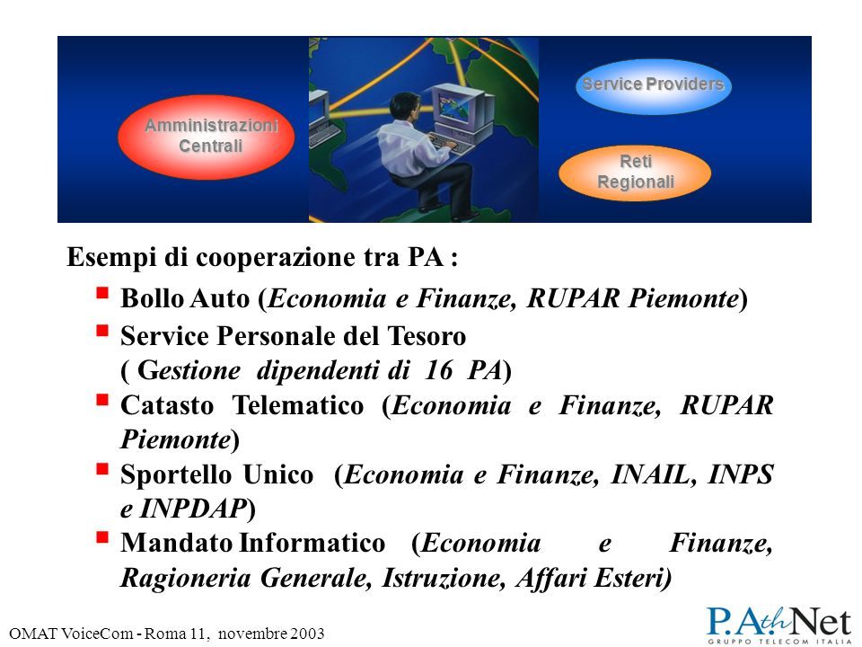 OMAT VoiceCom - Roma 11, novembre 2003 La Qualità e la Sicurezza diventano fattori critici per la vita e lo sviluppo di un sistema di TLC aperto.