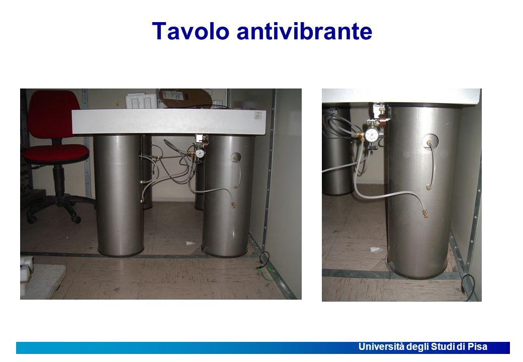 Università degli Studi di Pisa Tavolo antivibrante