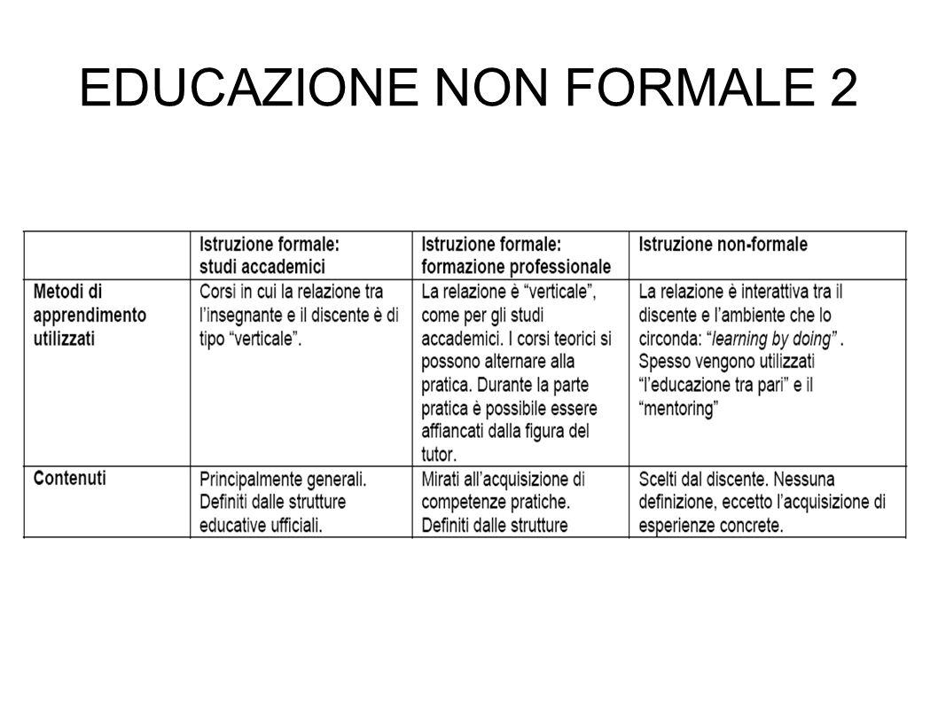 EDUCAZIONE NON FORMALE 3