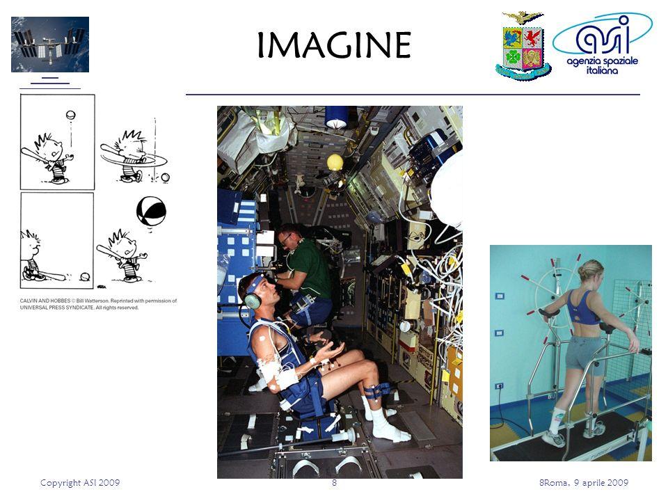 Copyright ASI 200988Roma, 9 aprile 2009 IMAGINE