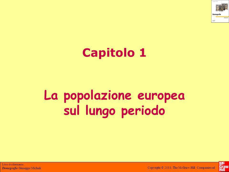 Libro di riferimento: Demografie Giuseppe Micheli Copyright © 2011- The McGraw-Hill Companies srl Lezione 1.1 Storia sociale e biologia delle pandemie