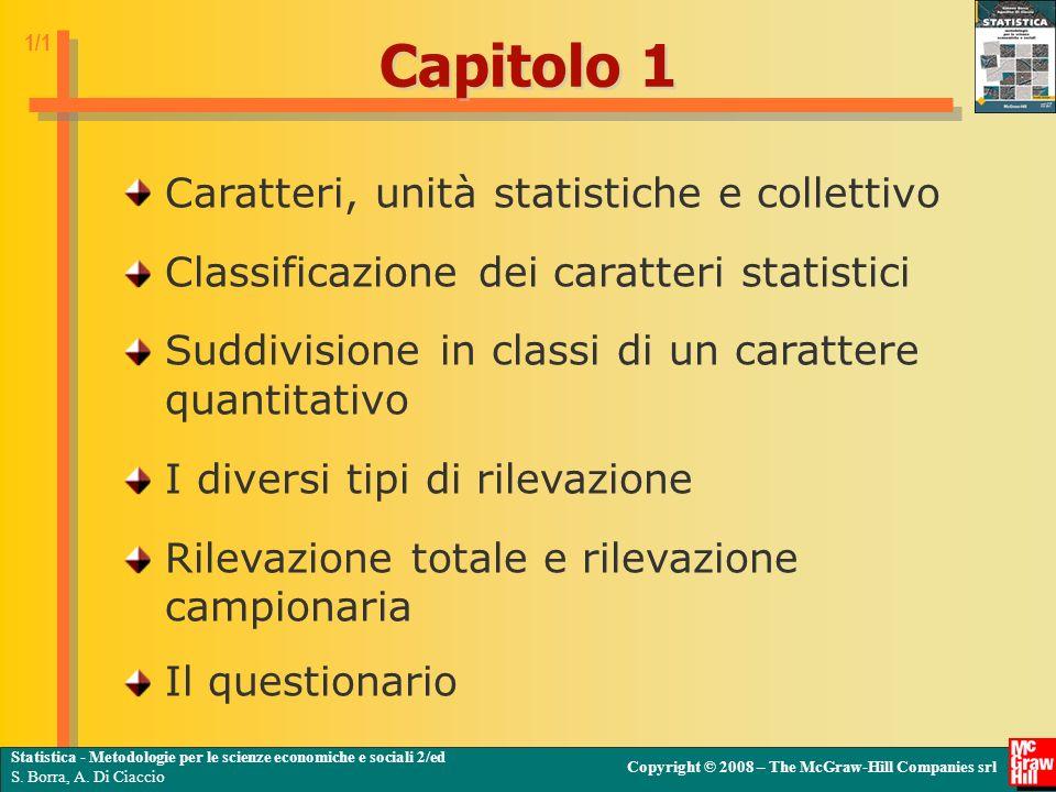 Statistica - Metodologie per le scienze economiche e sociali 2/ed S.