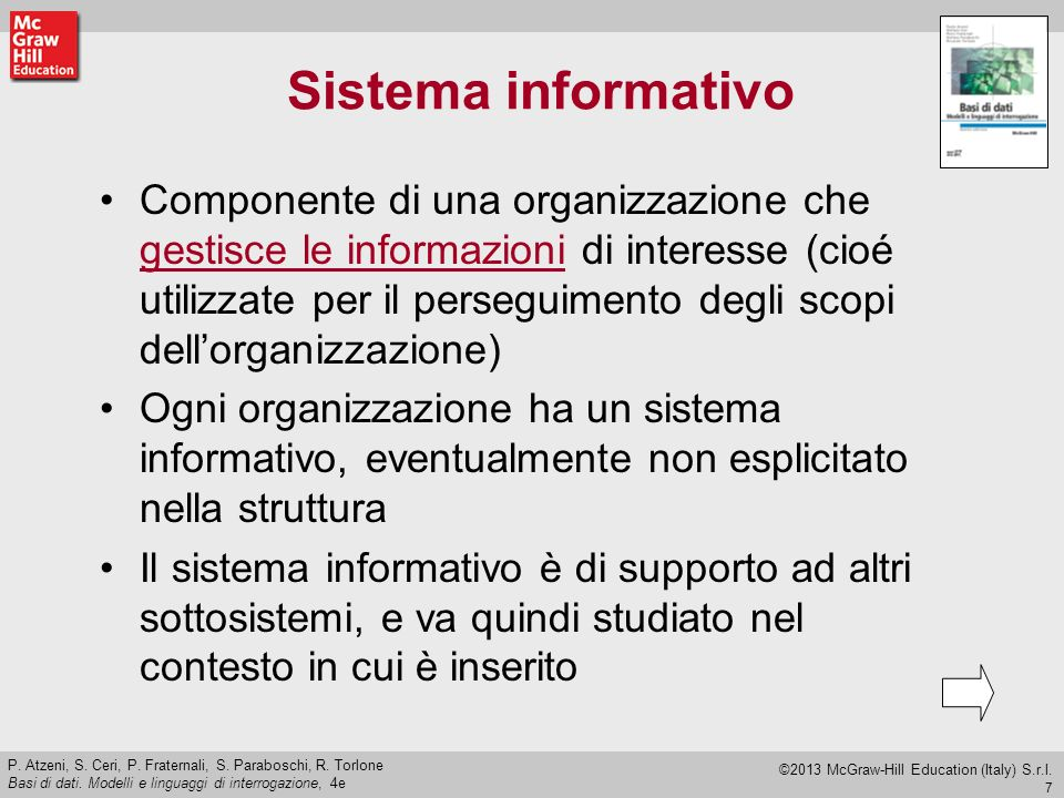 8 P.Atzeni, S. Ceri, P. Fraternali, S. Paraboschi, R.
