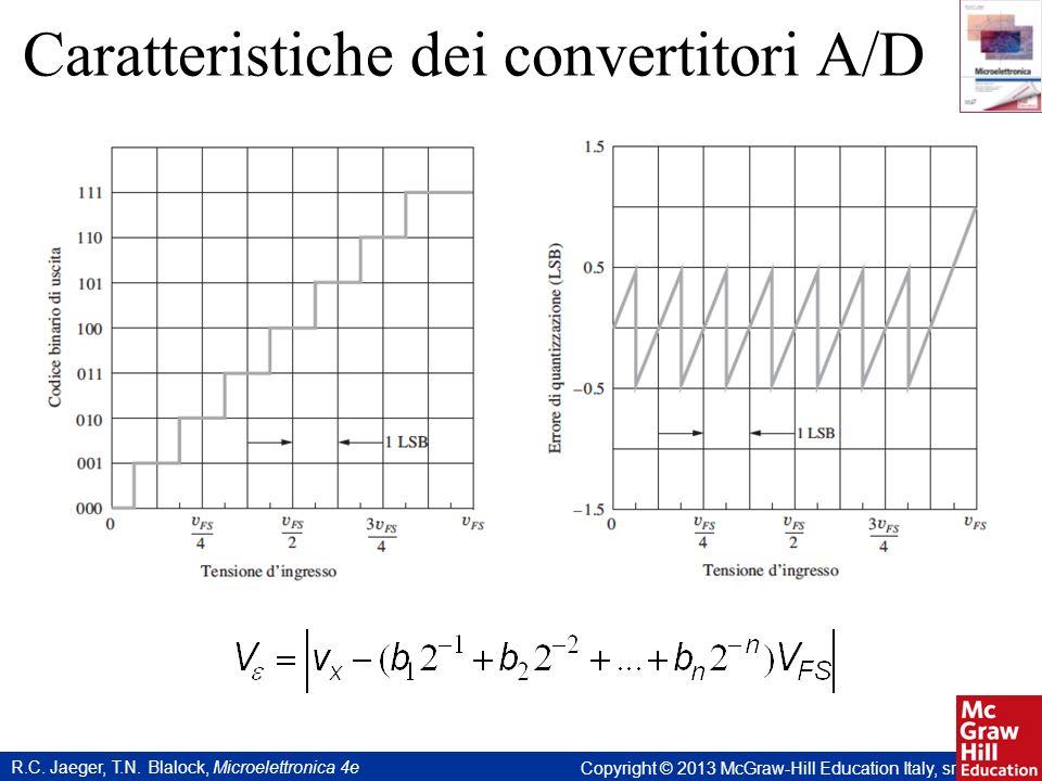 R.C. Jaeger, T.N. Blalock, Microelettronica 4e Copyright © 2013 McGraw-Hill Education Italy, srl Caratteristiche dei convertitori A/D