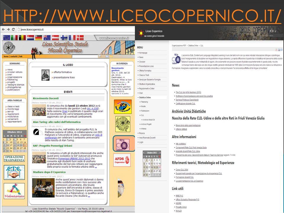 10 HTTP://WWW.LICEOCOPERNICO.IT/