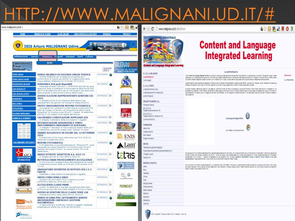 HTTP://WWW.MALIGNANI.UD.IT/# a cura isp luigi torchio 9