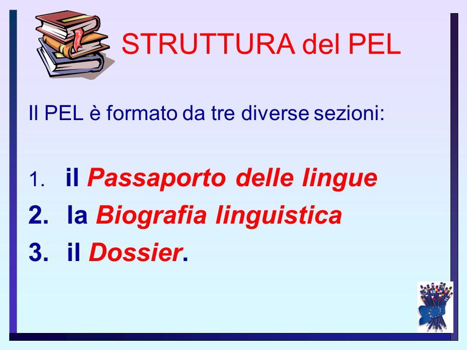 Nel P.E.L. ciascuno può registrare i propri apprendimenti linguistici, riflettere sul proprio processo di apprendimento e sui risultati raggiunti, por