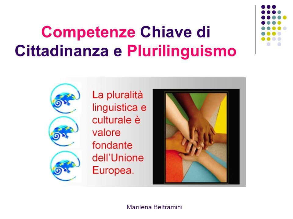 Competenze Chiave di Cittadinanza e Plurilinguismo Marilena Beltramini
