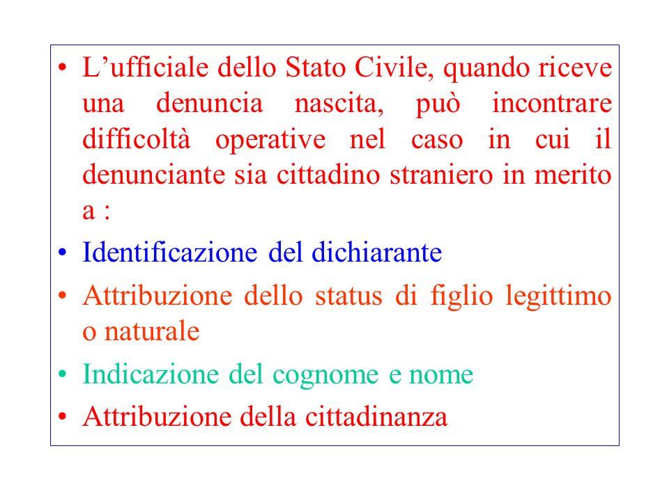 Identificazione Le modalità relative allidentificazione di un soggetto sono contenute nel: Testo unico delle leggi di pubblica sicurezza approvato con R.D.