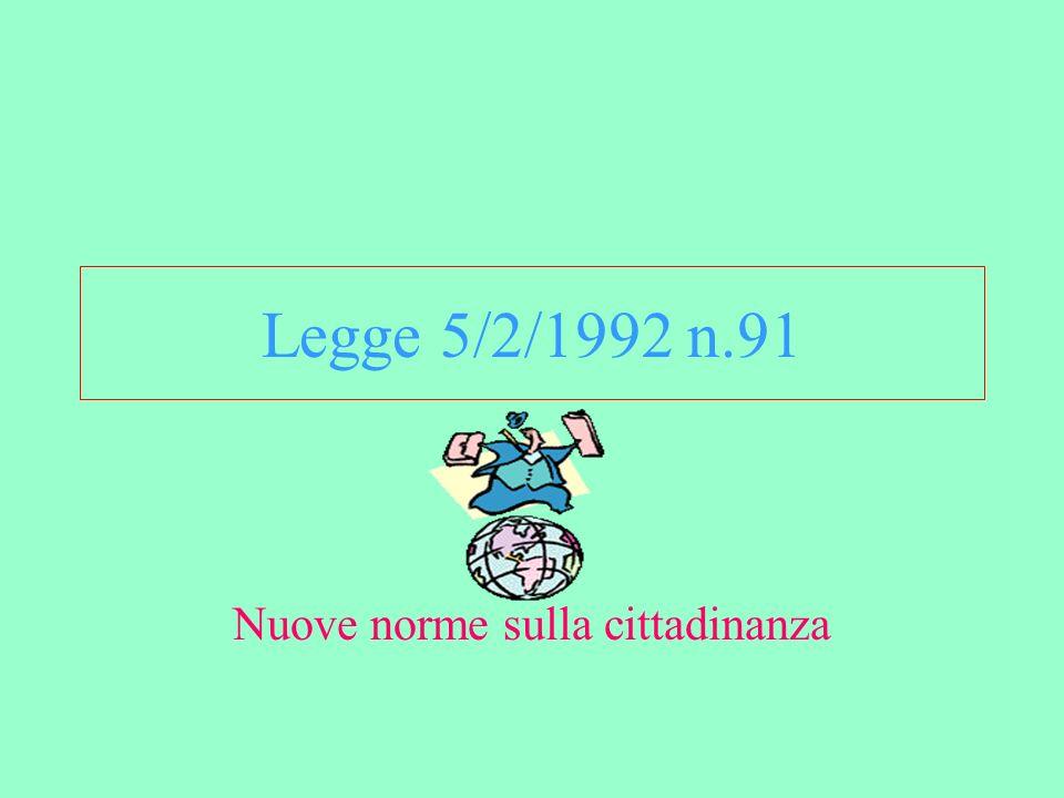 Il cittadino incorre nella perdita automatica della cittadinanza italiana se acquista lo status civitatis di un Paese sottoscrittore della Convenzione di Strasburgo (6.5.1963 art.