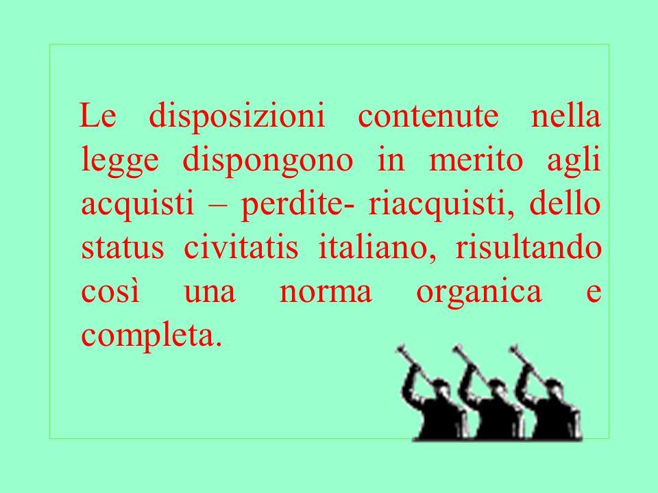 . Il cittadino straniero può richiedere la cittadinanza nei seguenti casi: Se coniuge di cittadino italiano (art.5 legge 91/92) Decorso un periodo stabilito di residenza legale sul territorio italiano (art.9 da lett.A fino alla lettera F)