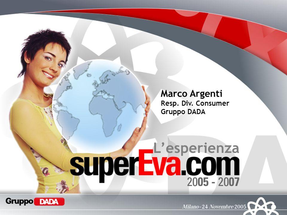 Lesperienza Marco Argenti Resp. Div. Consumer Gruppo DADA