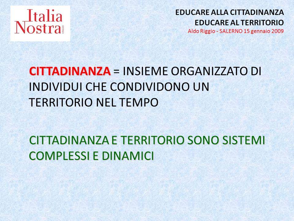 PASSATO PASSATO = MEMORIA/CULTURA/IDENTITA ADESSO FUTURO FUTURO = OBIETTIVI/PIANI/RICERCA