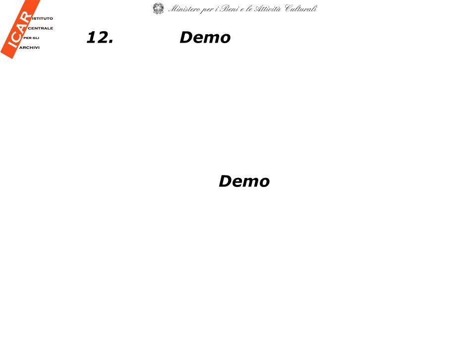 12. Demo Demo