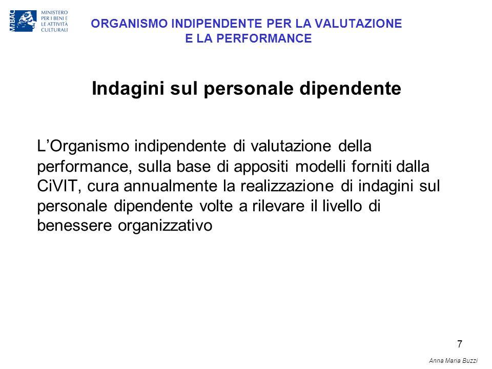 7 ORGANISMO INDIPENDENTE PER LA VALUTAZIONE E LA PERFORMANCE LOrganismo indipendente di valutazione della performance, sulla base di appositi modelli