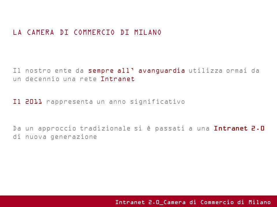 Una scrivania virtuale che attraverso un sistema Open Source vuole essere l unica porta di accesso a tutti i servizi, applicativi e tools per i dipendenti camerali Intranet 2.0_Camera di Commercio di Milano