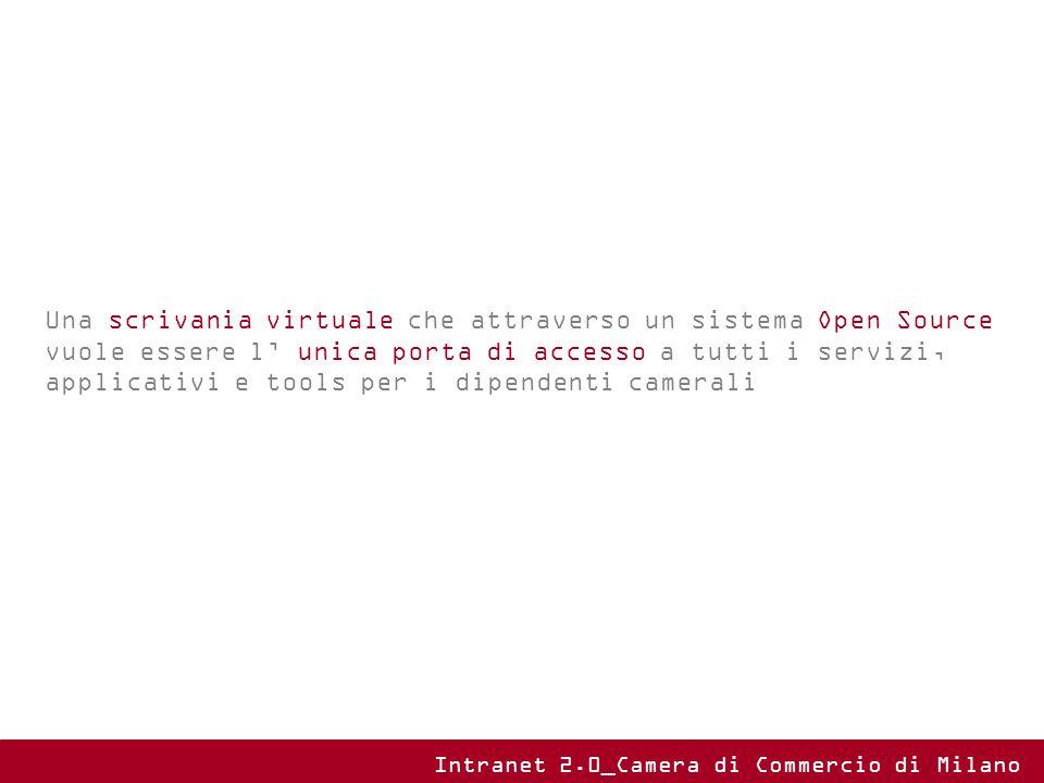 Una scrivania virtuale che attraverso un sistema Open Source vuole essere l unica porta di accesso a tutti i servizi, applicativi e tools per i dipend