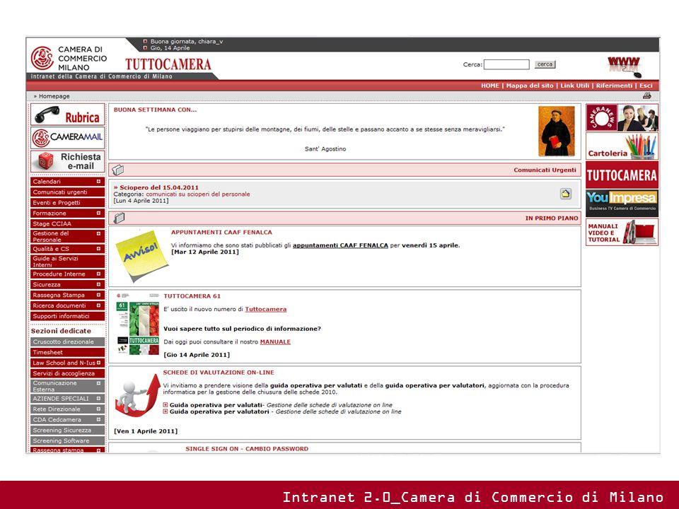 Intranet 2.0_Camera di Commercio di Milano
