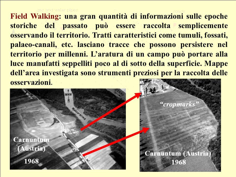 Field Walking: una gran quantità di informazioni sulle epoche storiche del passato può essere raccolta semplicemente osservando il territorio.