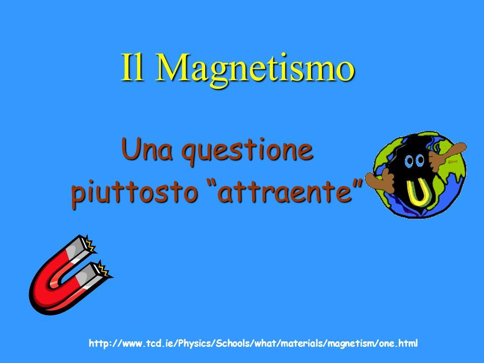 à Il termine magnetismo deriva dalla antica città di Magnesia, sul confine fra Grecia e Macedonia dove molti magneti naturali, ricchi di magnetite, Fe 3 O 4, erano stati trovati nellantichità.