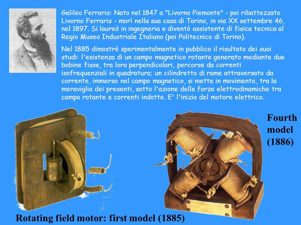 Galileo Ferraris: Nato nel 1847 a
