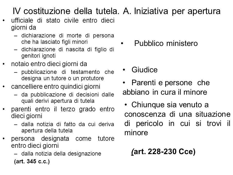 XI.1. autorizzazione del giudice tutelare investimento di capitali (art.