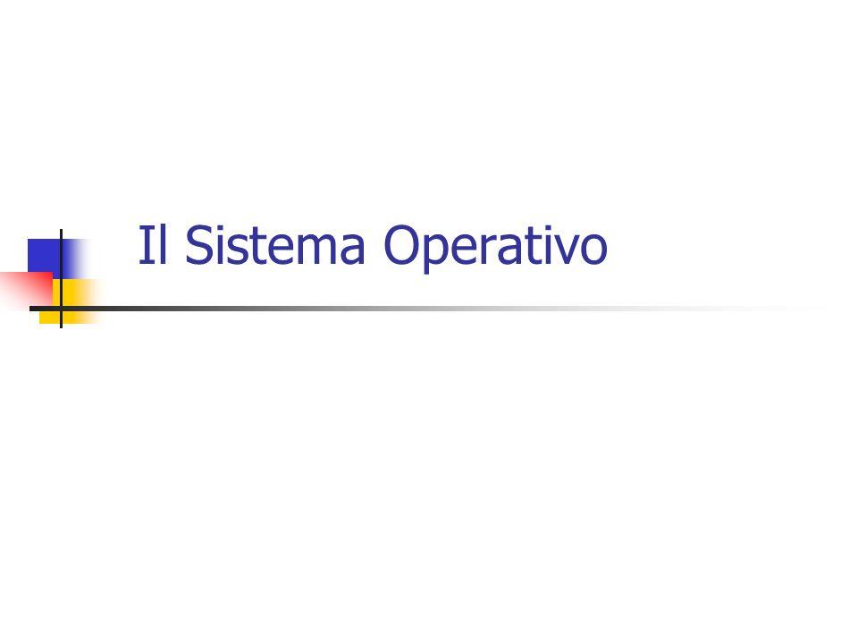 Sistema Operativo (Software di base) Il sistema operativo è un insieme di programmi che opera sul livello macchina e offre funzionalità di alto livello Es.organizzazione dei dati attraverso indici I sistemi operativi sono organizzati a strati Strato = macchina virtuale che maschera la macchina fisica (hardware)