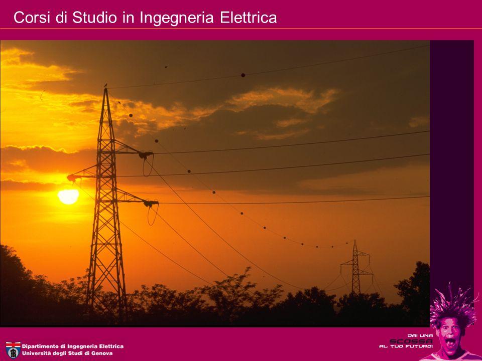 Corsi di Studio in Ingegneria Elettrica