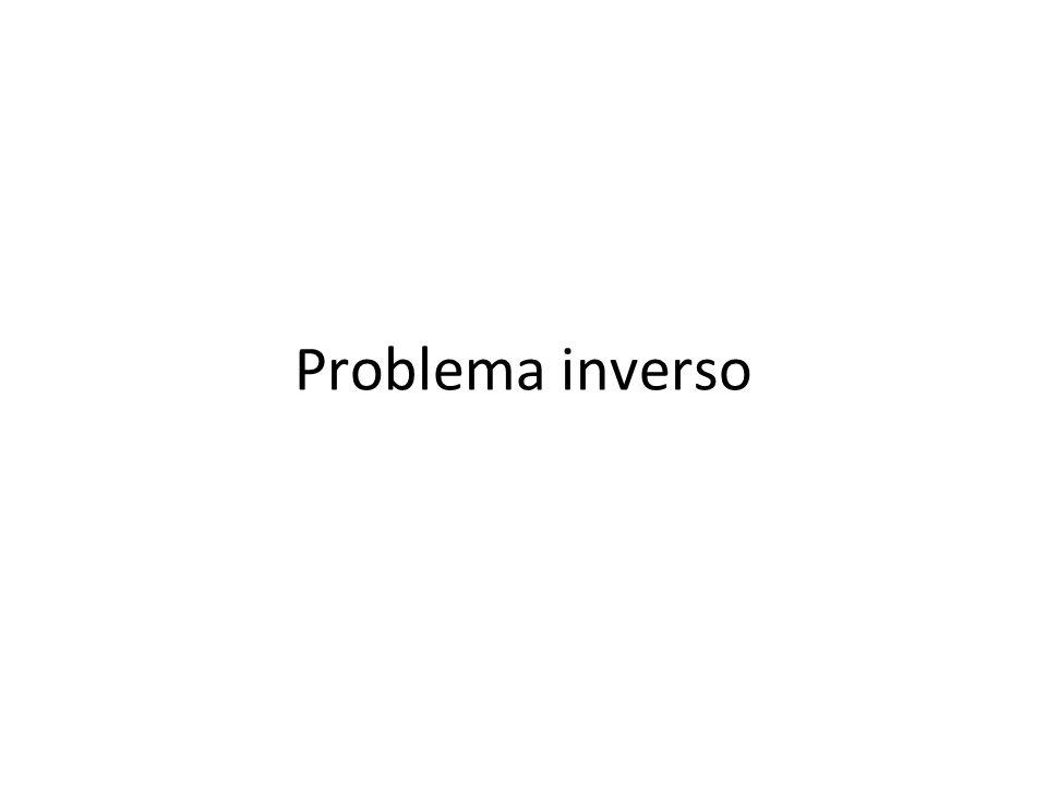 Inverse problems X: sorgente, incognita Y: quantità misurata f(x): funzione nota, problema diretto, modello fisico Matematica vera: spazi di Hilbert e operatori (compatti, lineari,…) Modello semplicistico: