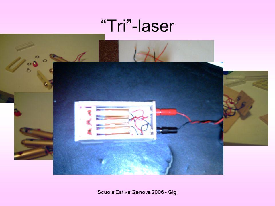 Scuola Estiva Genova 2006 - Gigi Tri-laser