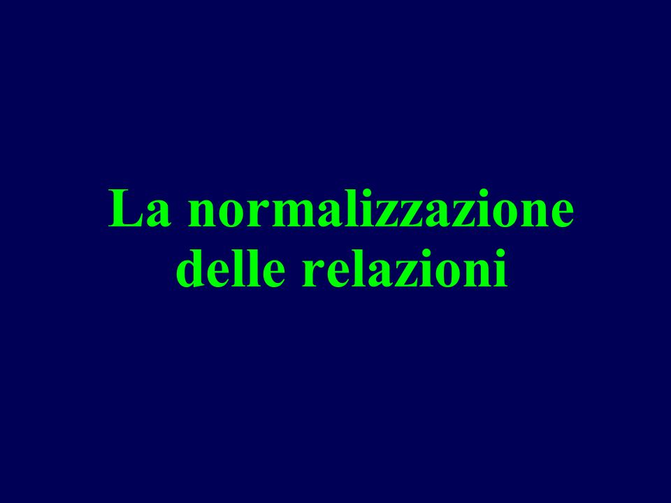 Es.2 scomposizione BCNF e 3NF R = (branch-name, assets, branch-city, loan- number, customer-name, amount) branch-name assets branch-name city loan-number amount loan-number branch-name la chiave è (loan-number, customer name)