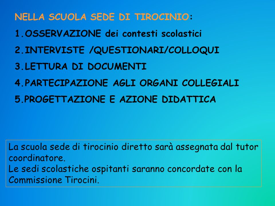 ZONA PONENTE : da Genova - Cornigliano a Ventimiglia Tutor coordinatori : Baglietto – Bormida - Rocca – Zunino ZONA CENTRO (da Genova – Sampierdarena a Albaro) /VALBISAGNO Tutor coordinatori: Colao - Di Benedetto – Faorlin – Merenda – Morabito ZONA VALPOLCEVERA/VALLE STURA (Piemonte) Tutor coordinatori : Pisano ZONA LEVANTE : da Genova – Sturla a La Spezia Tutor coordinatori : Cacciabue - Drago ZONE TIROCINIO