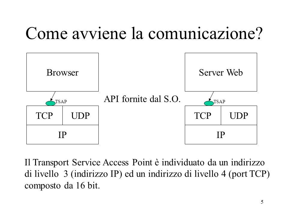 26 funzione sendto() int sendto (int socketfd, const void* msg, int len, unsigned int flags, struct sockaddr *to, int *tolen); to è un puntatore a una struct sockaddr che contiene lindirizzo IP e la porta della destinazione.