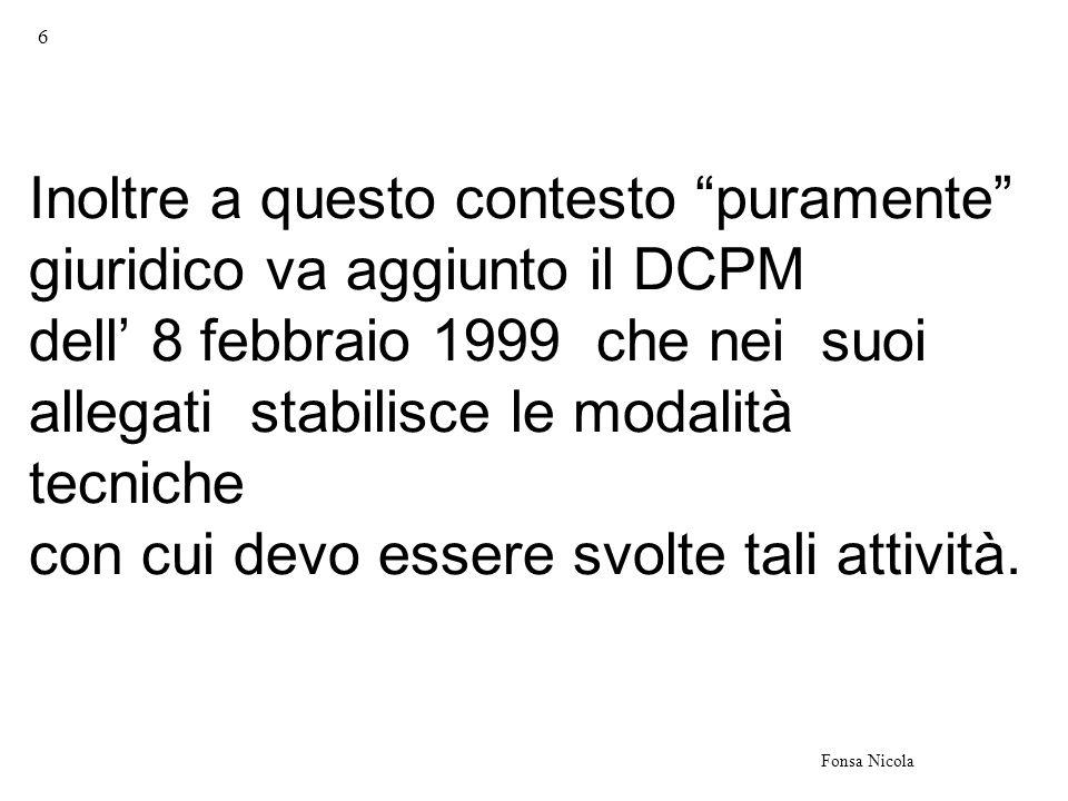 7 Fonsa Nicola il D.P.R.