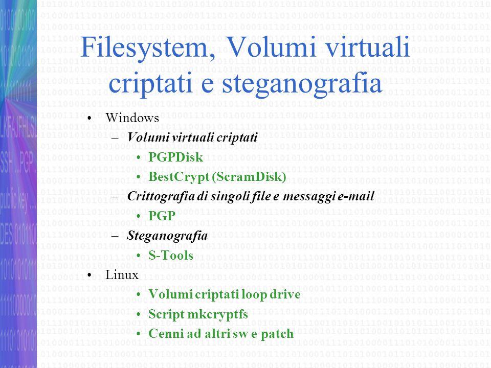 Considerazioni conclusive Backup dei volumi Può verificarsi, in maniera accidentale o intenzionale, che una persona non autorizzata acceda allo spazio di disco nel quale è contenuto il proprio volume PGPdisk e lo elimini.