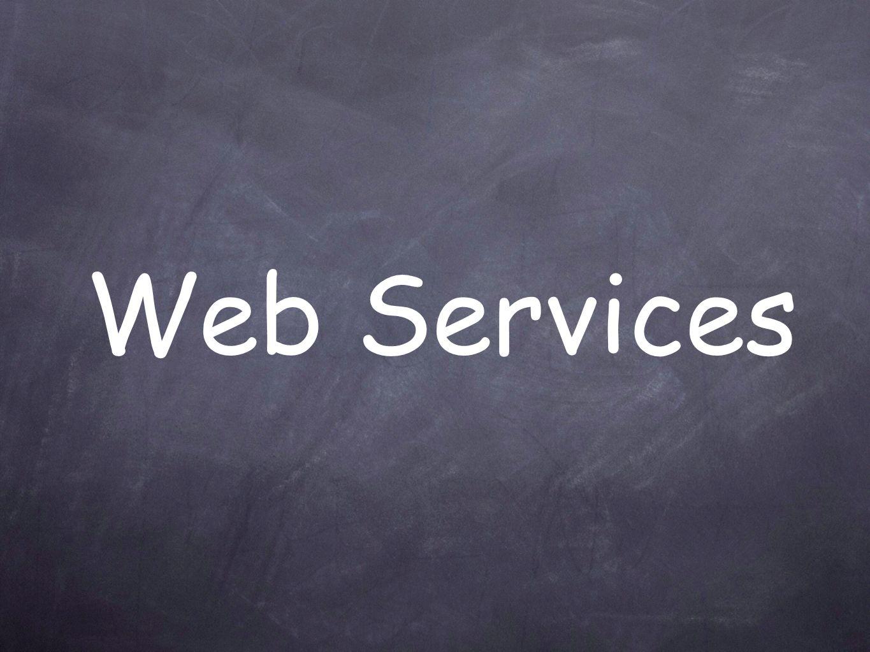 Definizione di Web Service Un servizio web è un interfaccia che descrive una collezione di operazioni, accessibili attraverso una rete mediante messaggistica XML [WSCA10].
