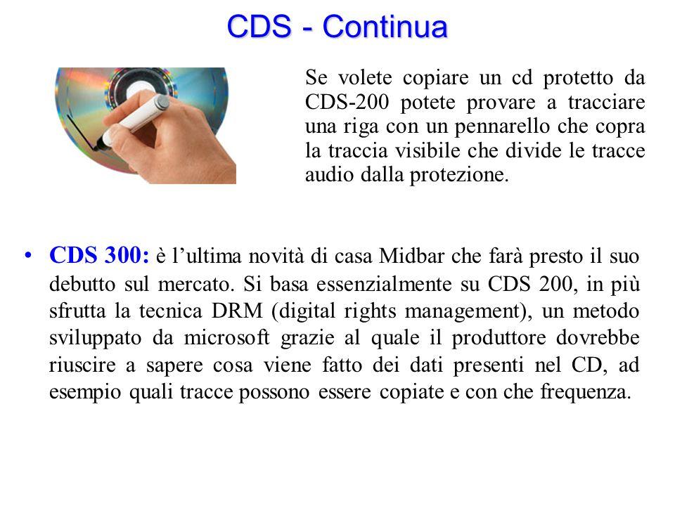 CDS - Continua CDS 300: è lultima novità di casa Midbar che farà presto il suo debutto sul mercato. Si basa essenzialmente su CDS 200, in più sfrutta