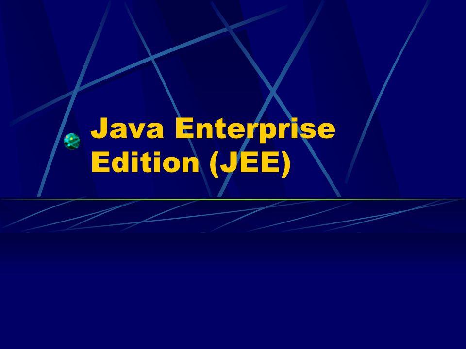 2 JEE: cosè Insieme di specifiche per: il progetto lo sviluppo lassemblaggio linstallazione di applicazioni enterprise multi-tier.