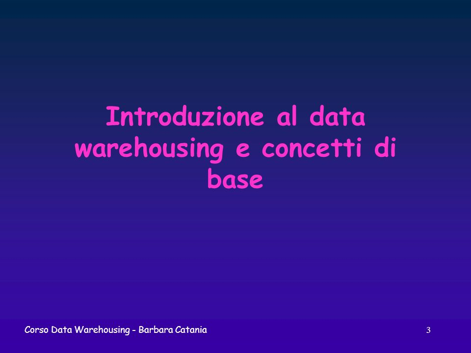 244Corso Data Warehousing Architettura fisica ROLAP application layer DW Metadata Application serverBusiness users Desktop front end