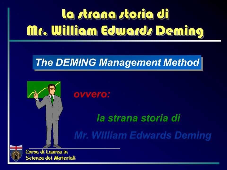 Corso di Laurea in Scienza dei Materiali Le strategie