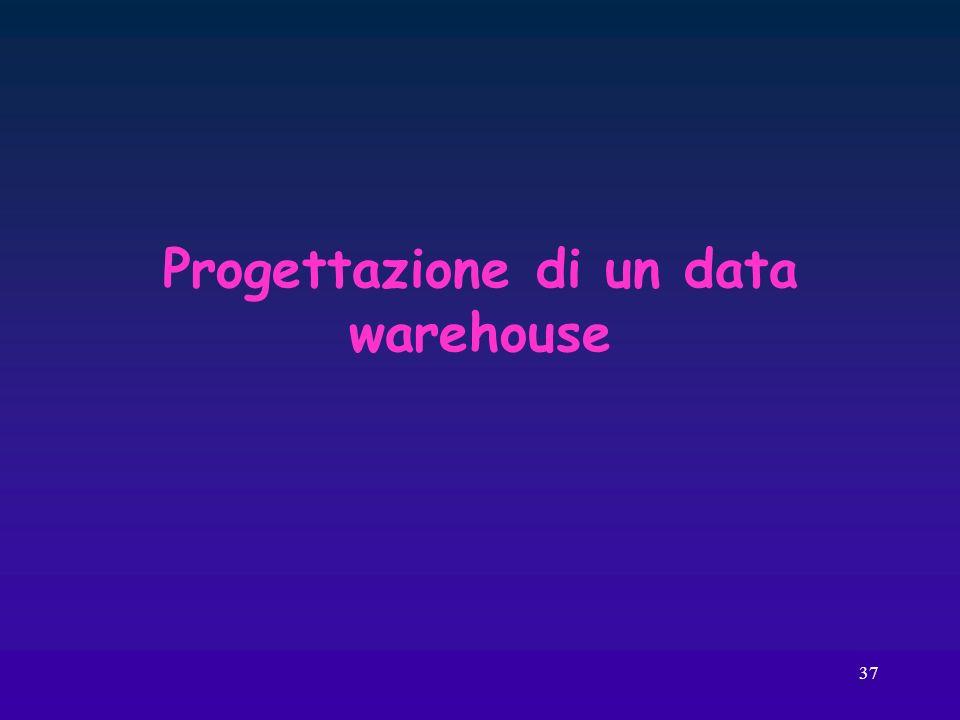 37 Progettazione di un data warehouse