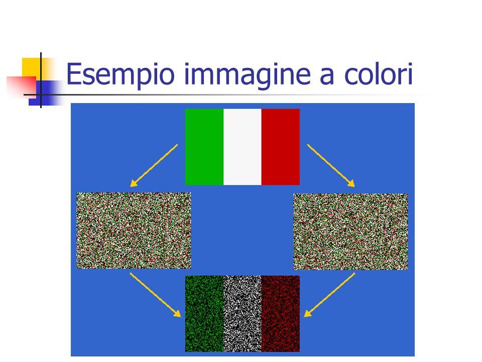 Esempio immagine a colori