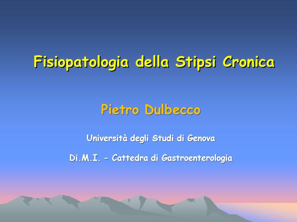 Pietro Dulbecco Università degli Studi di Genova Di.M.I.